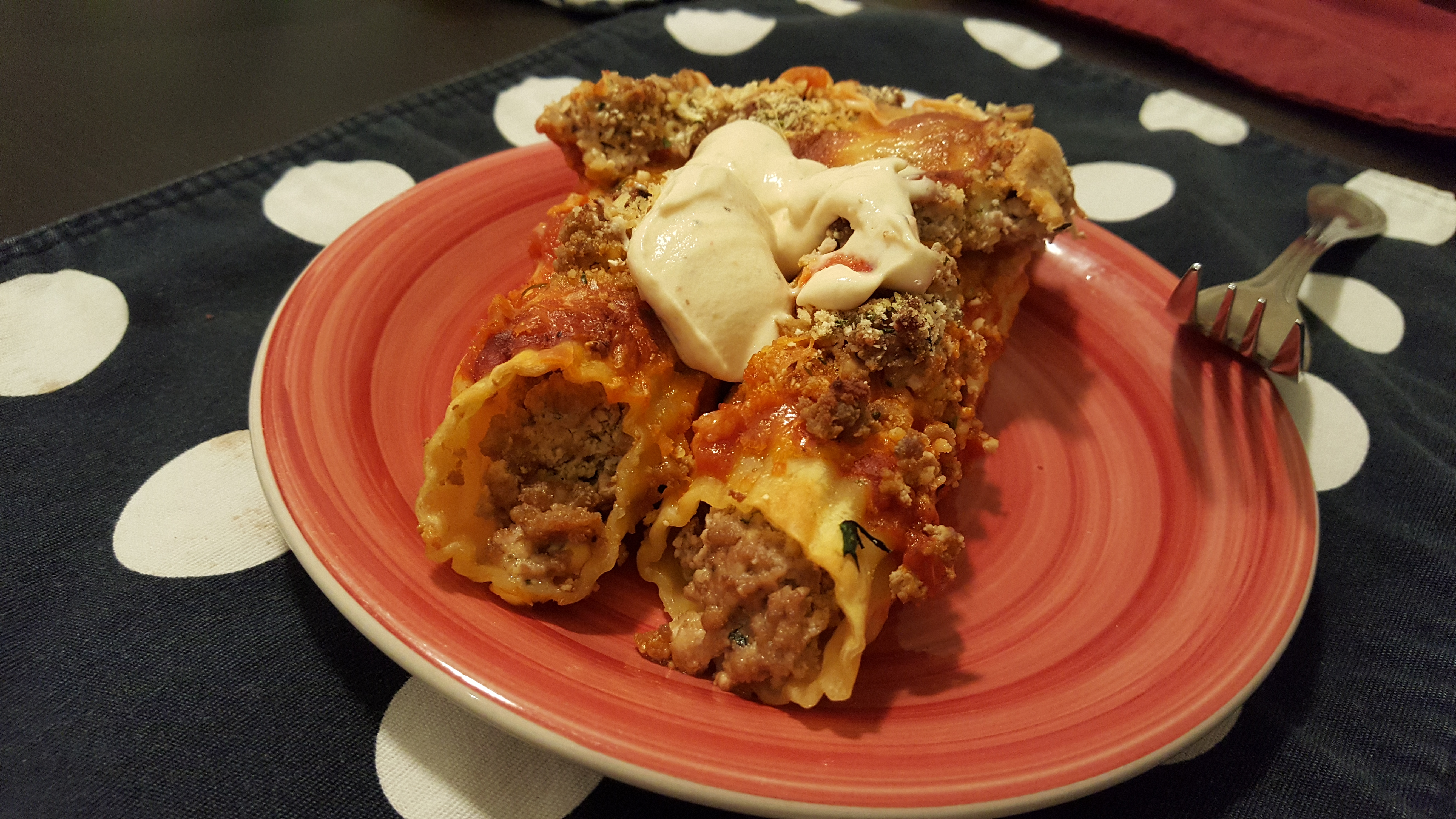 Cannelloni Bake