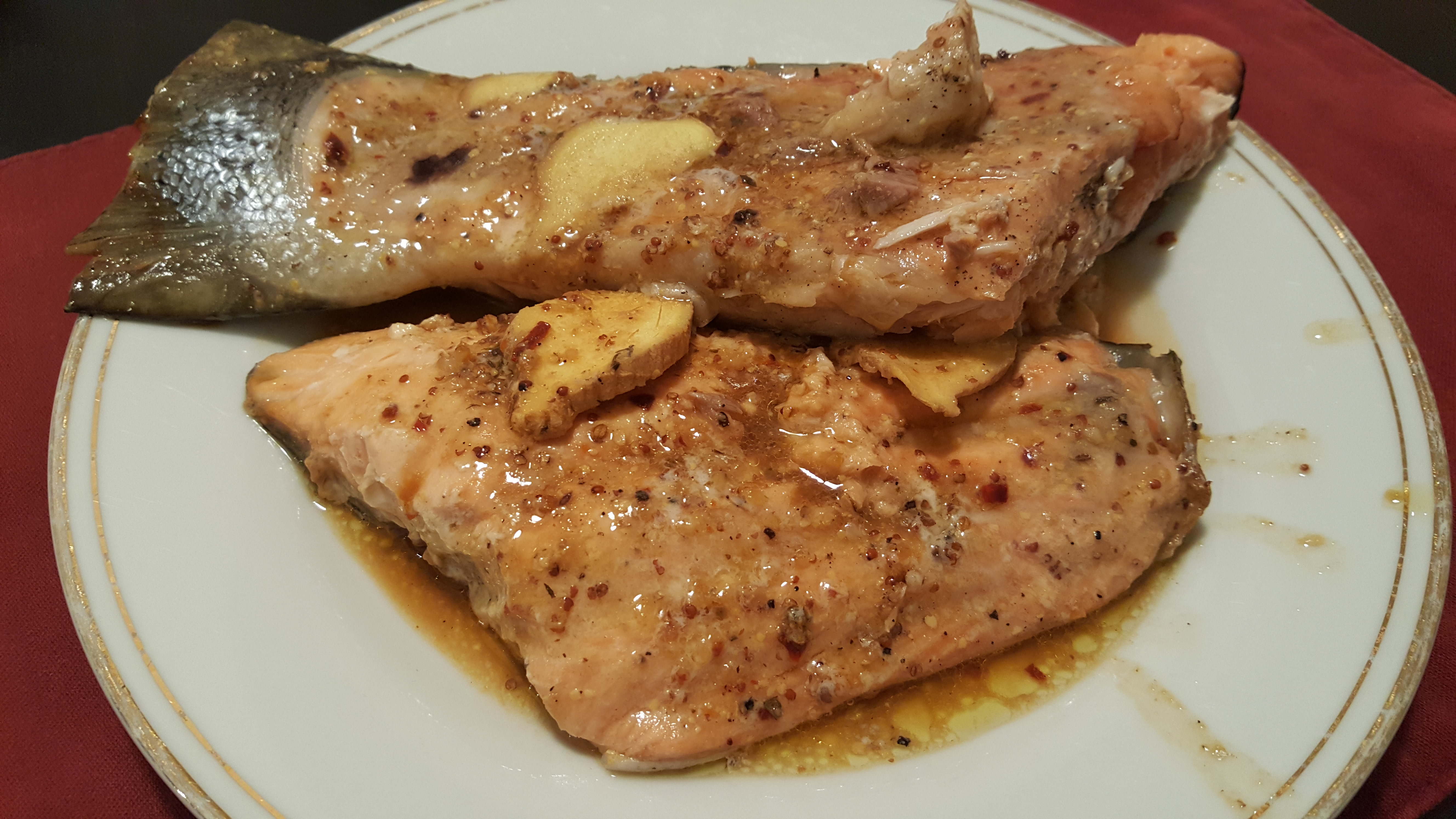 Sunday Night Baked Salmon