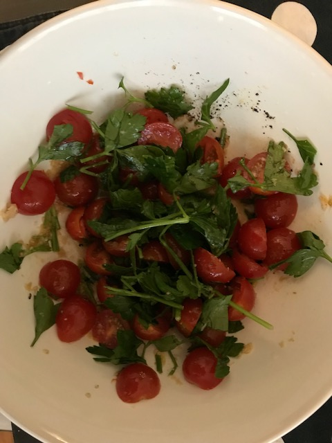 Nigella's Tomato and Horseradish Salad