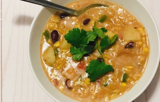 Quick and Easy Mexican Corn Chowder