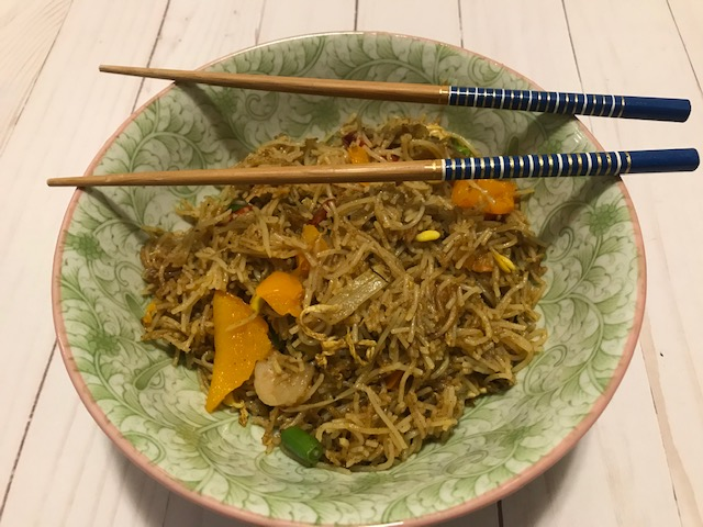 singaporean spicy noodles