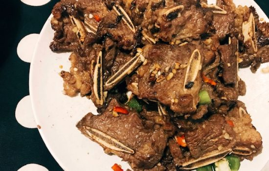 Stir Fried Short Ribs