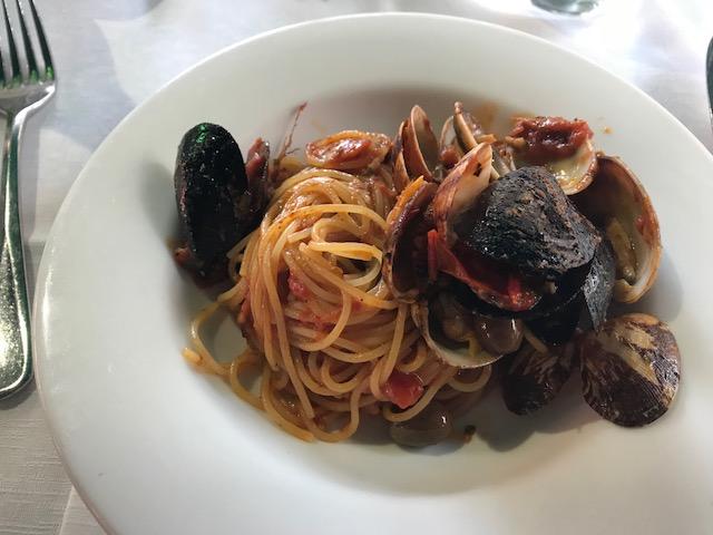 ristorante ciak spaghetti mussels