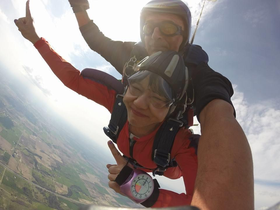 skydiving in Innisfil