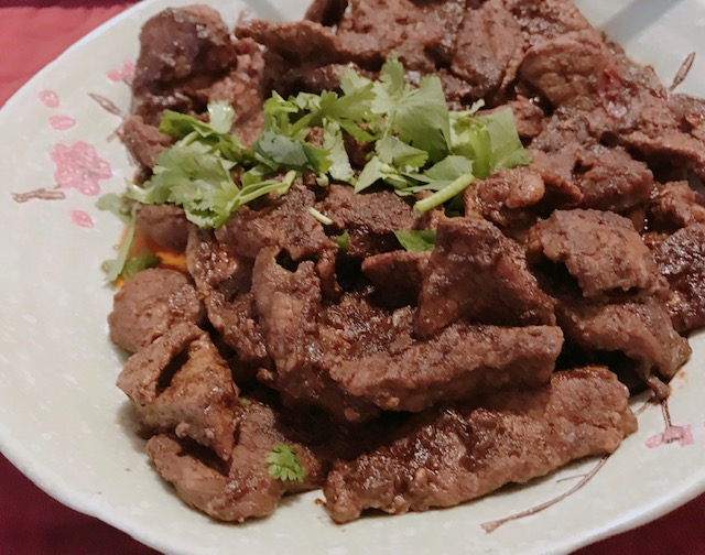 chili crispy beef recipe