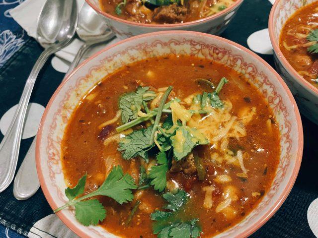 turkey chili beans