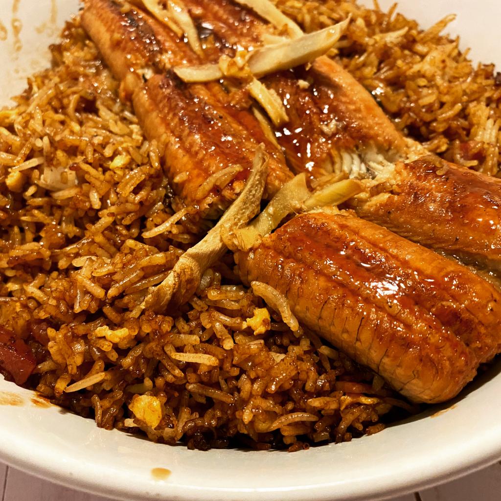 BBQ eel rice