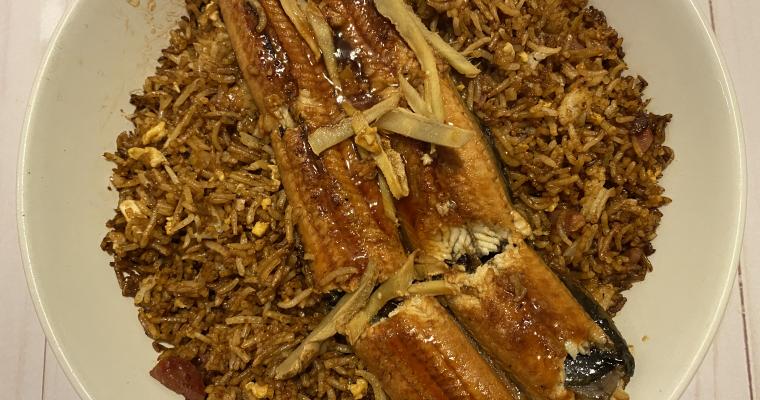 BBQ Eel Fried Rice
